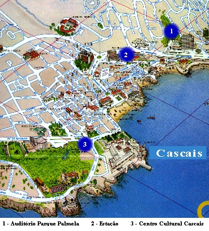 mapa cascais Where mapa cascais
